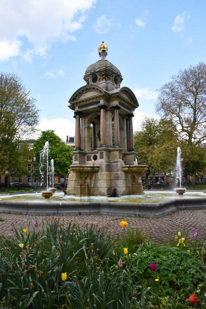Balade au parc de Sarphatipark à Amsterdam
