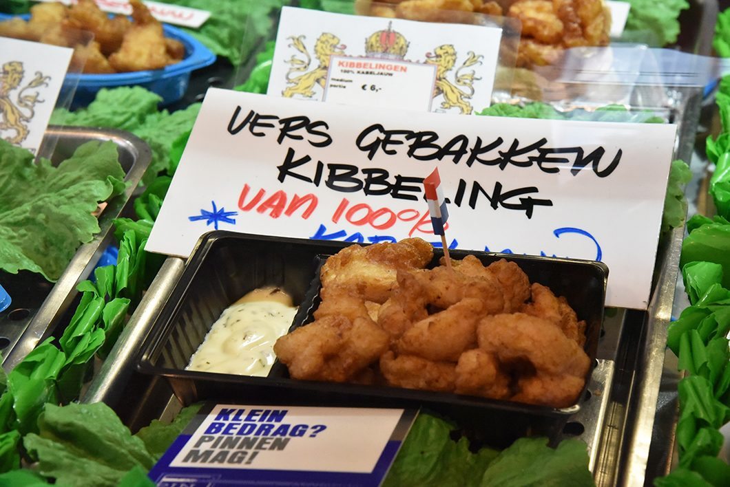 Kibbelings - Albert Cuypmarkt à Amsterdam