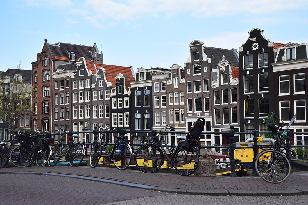 Les jolies façades à Amsterdam