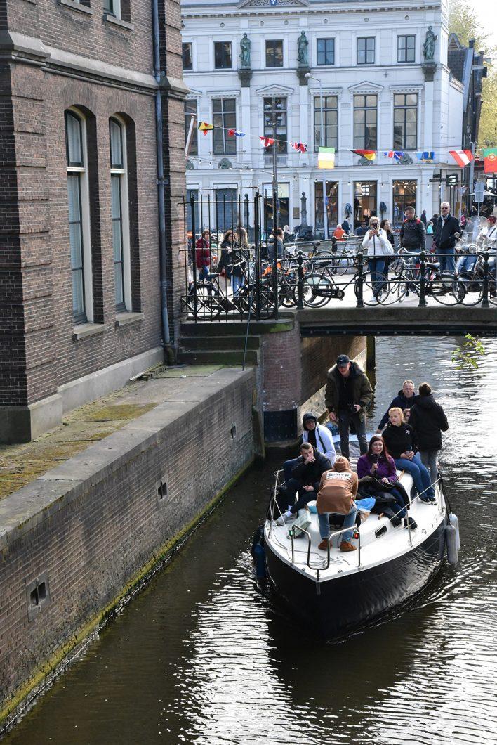 Visite des canaux d'Amsterdam en bateaux