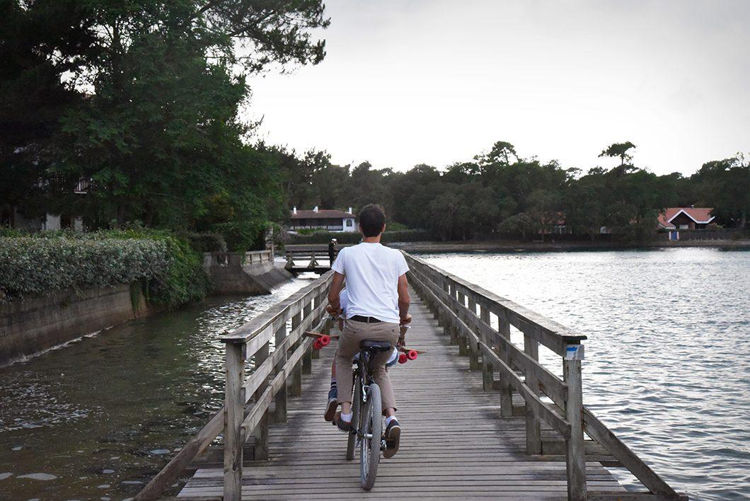 Vélo à Hossegor