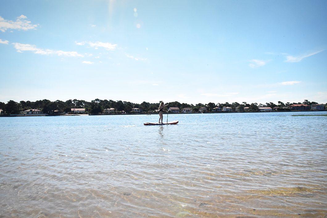Paddle à Hossegor