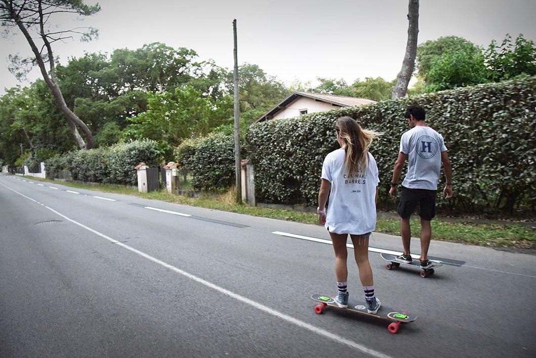 Skate à Hossegor