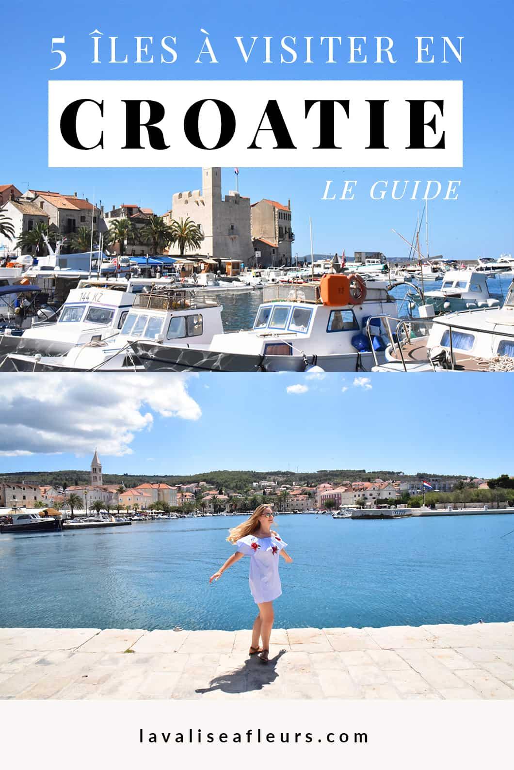 5 iles à visiter en Croatie