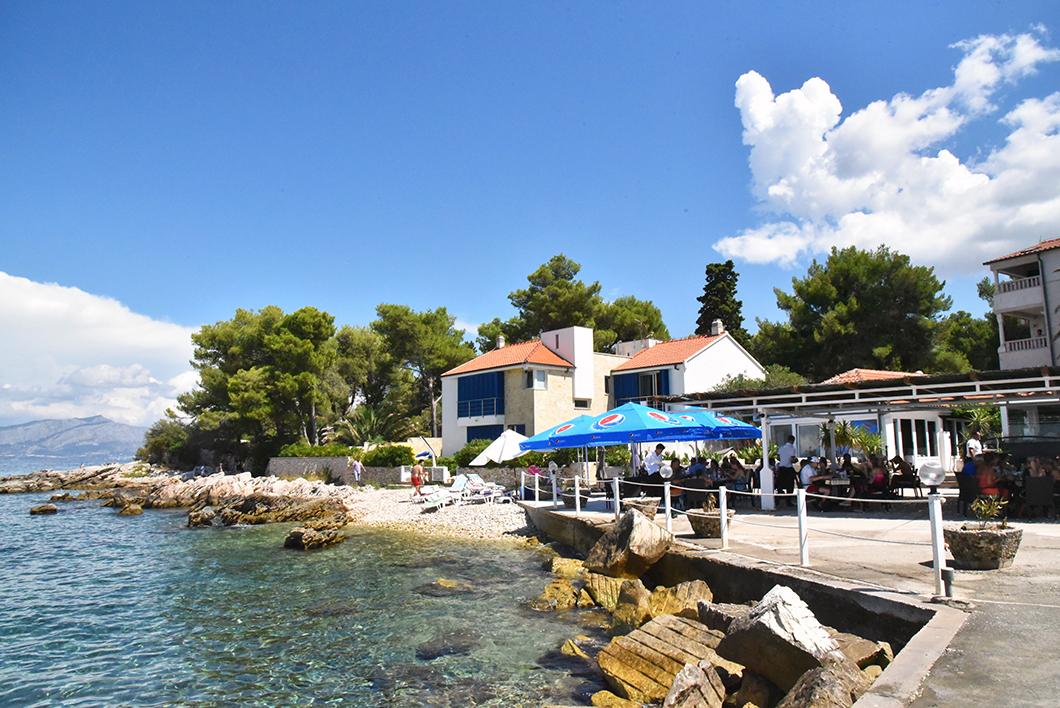 Restoran Punta Supetar - Croatie