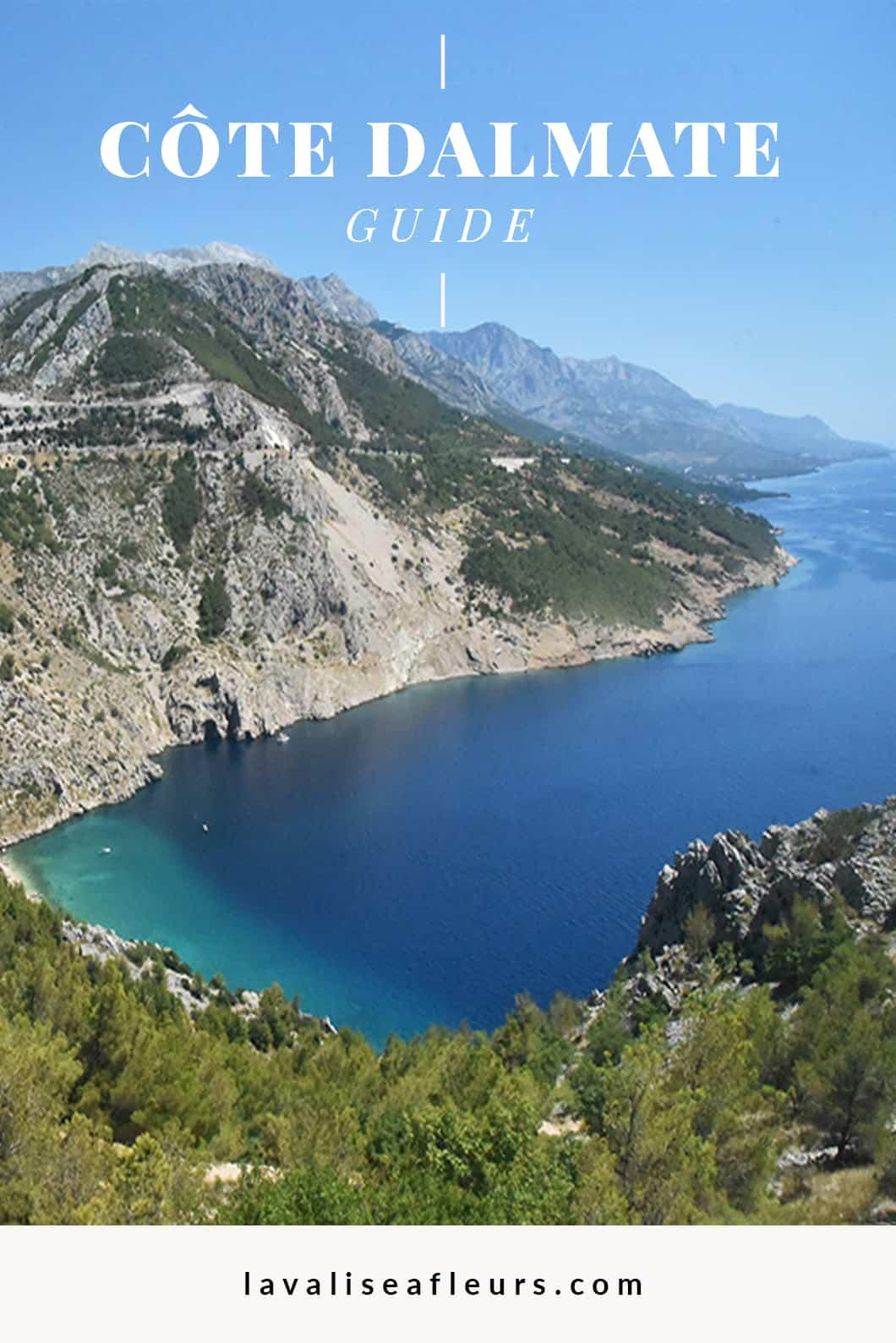 Que visiter en Croatie ? La Côte Dalmate