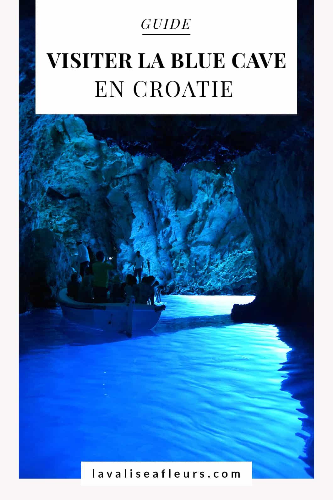 Visiter la blue cave en Croatie