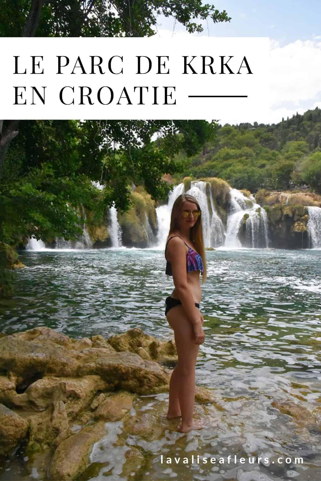 Visiter le Parc de Krka en Croatie