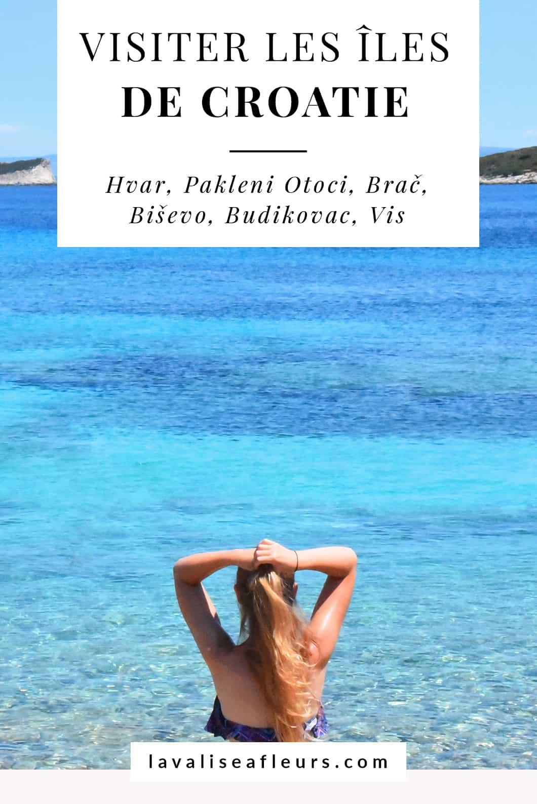 Visiter les Îles de Croatie
