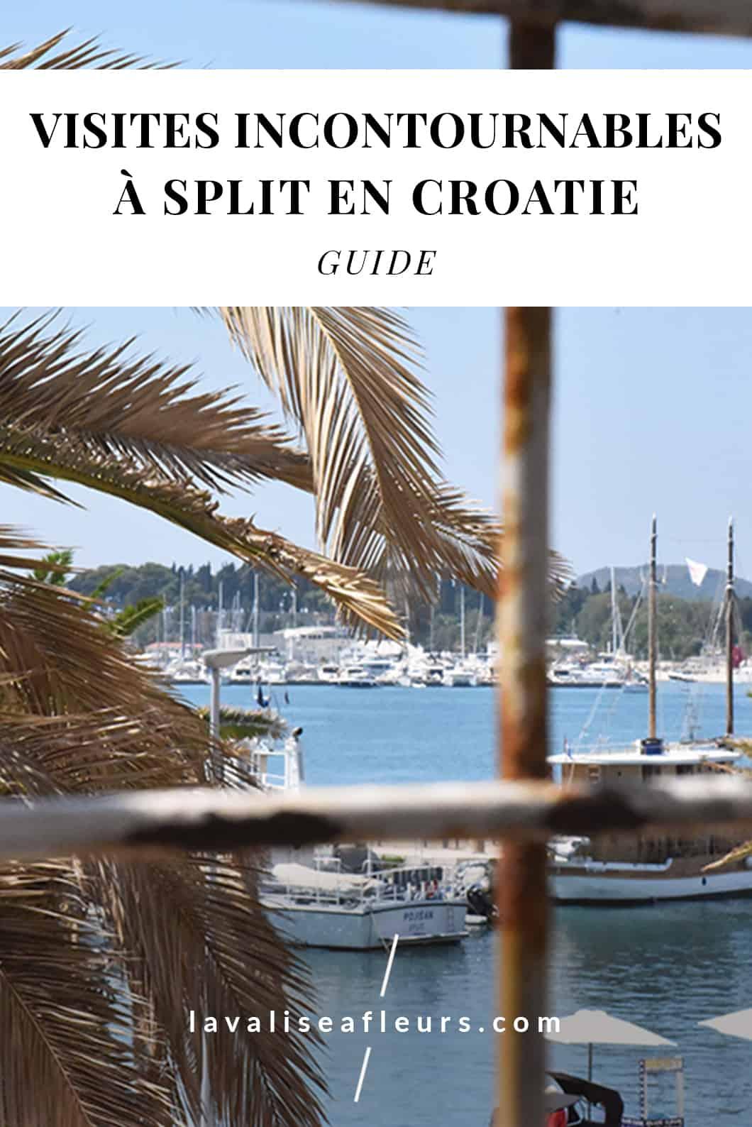Visites incontournables à Split en Croatie
