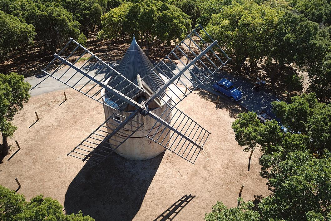 Moulin de Paillas à Ramatuelle - Golfe de Saint Tropez