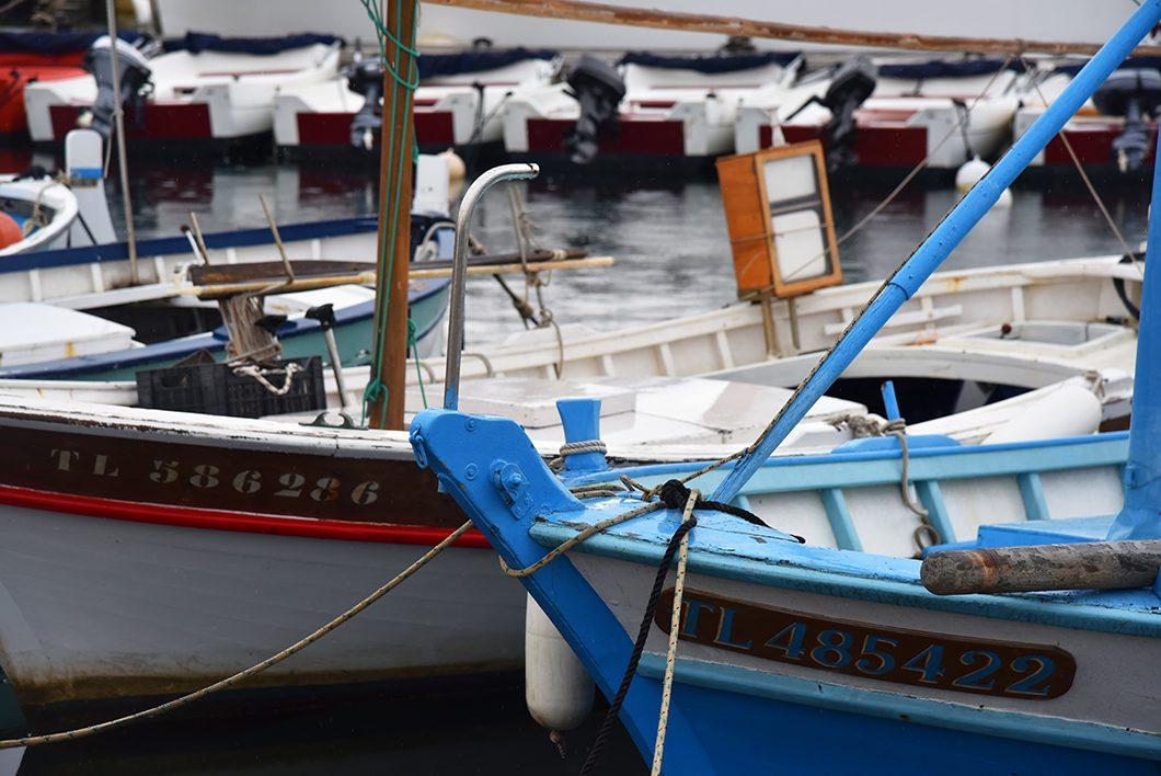 Hyères en bateau