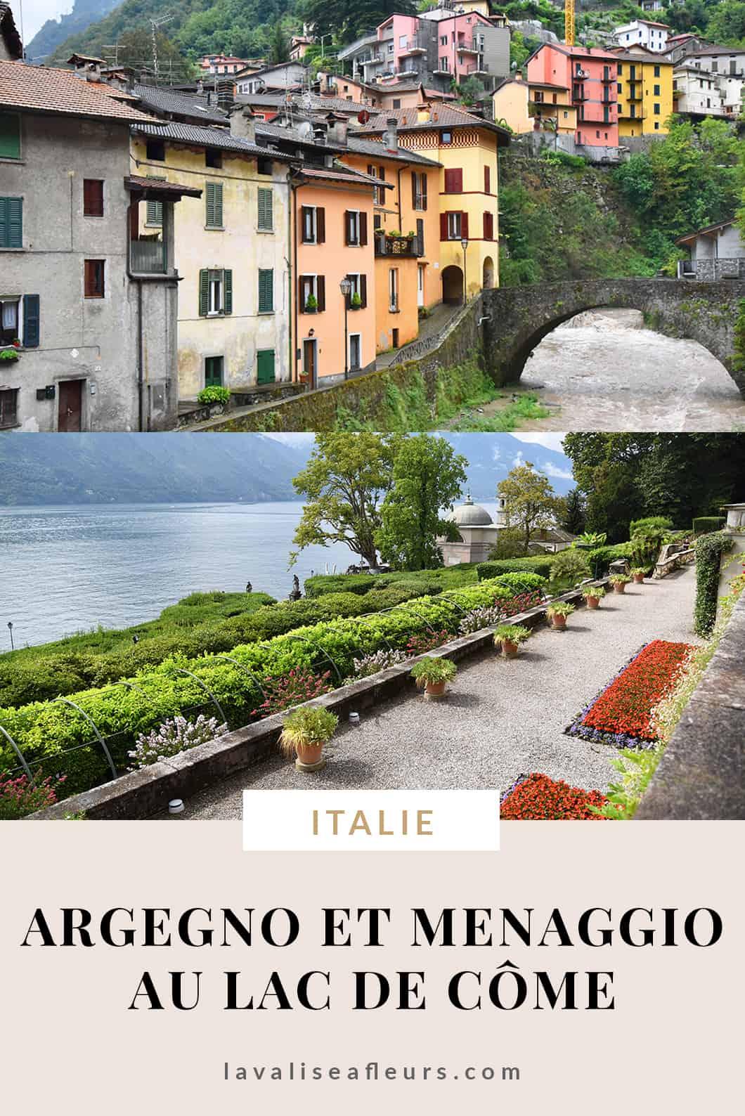 Visiter Argegno et Menaggio en Italie