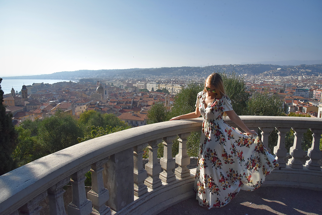 Un week end à Nice - Colline du château