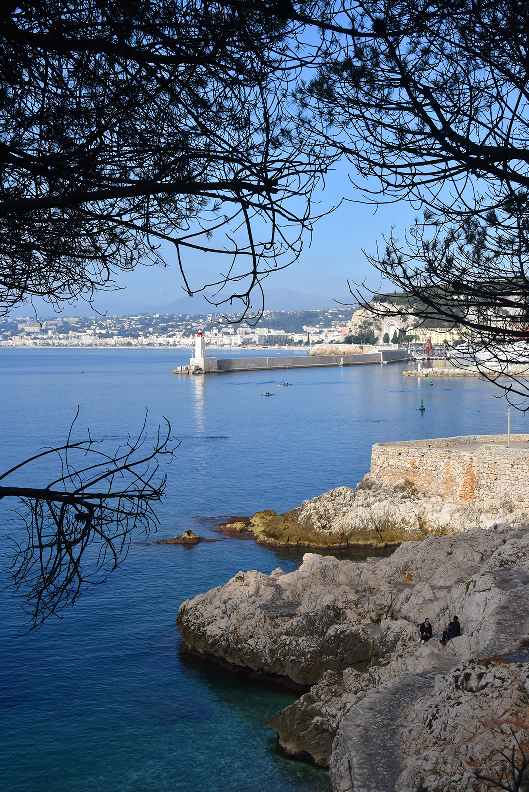 Un week end à Nice - Le sentier du Littoral