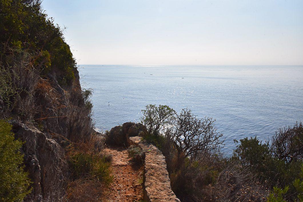 Un week end à Nice - Le sentier du Littoral