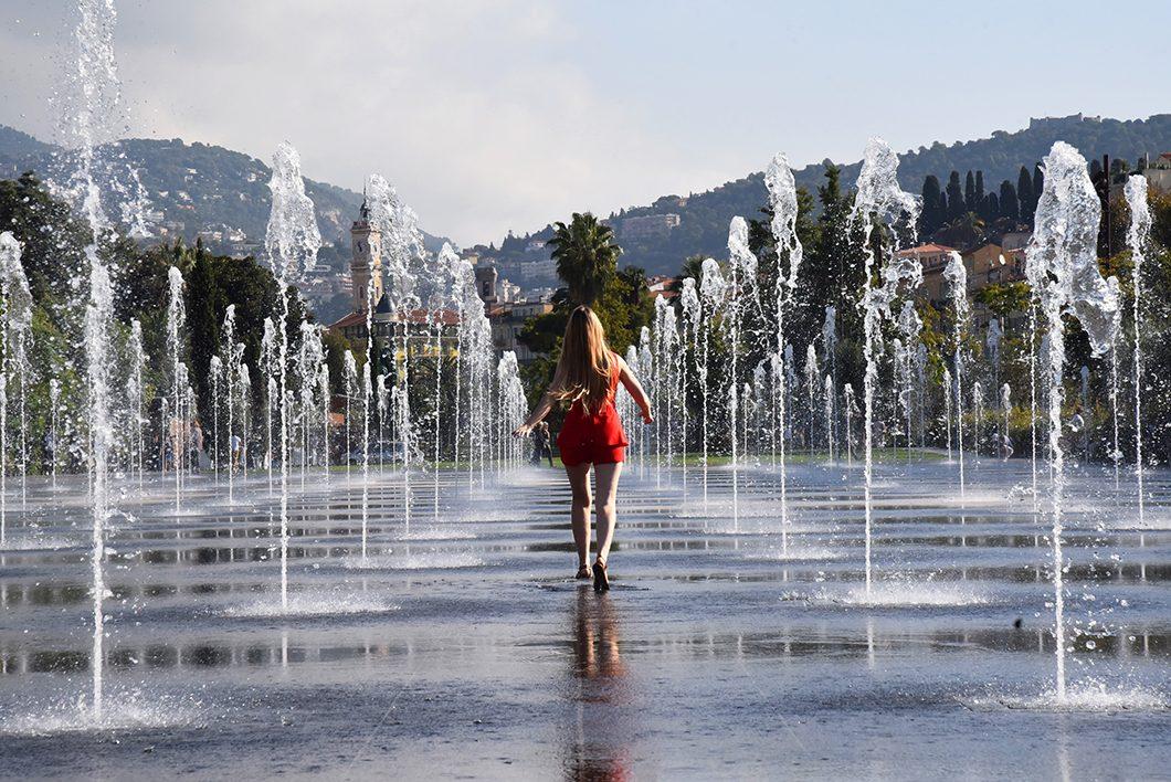 Un week end à Nice - Promenade du Paillon
