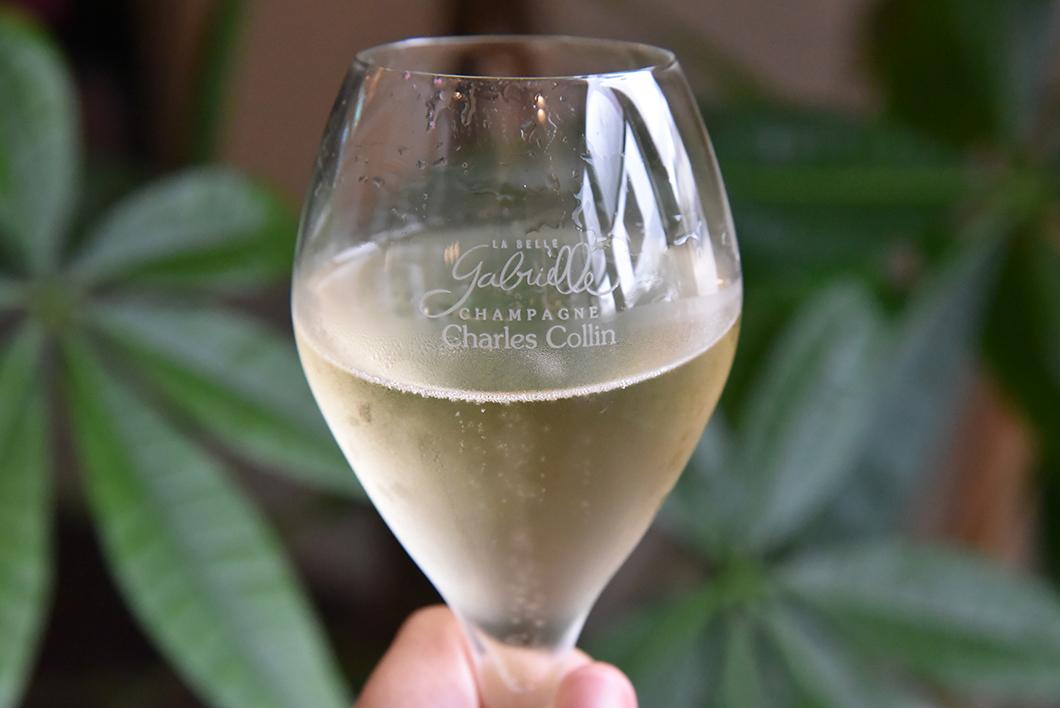 Dégustation de champagne Charles Collin à La Belle Gabrielle