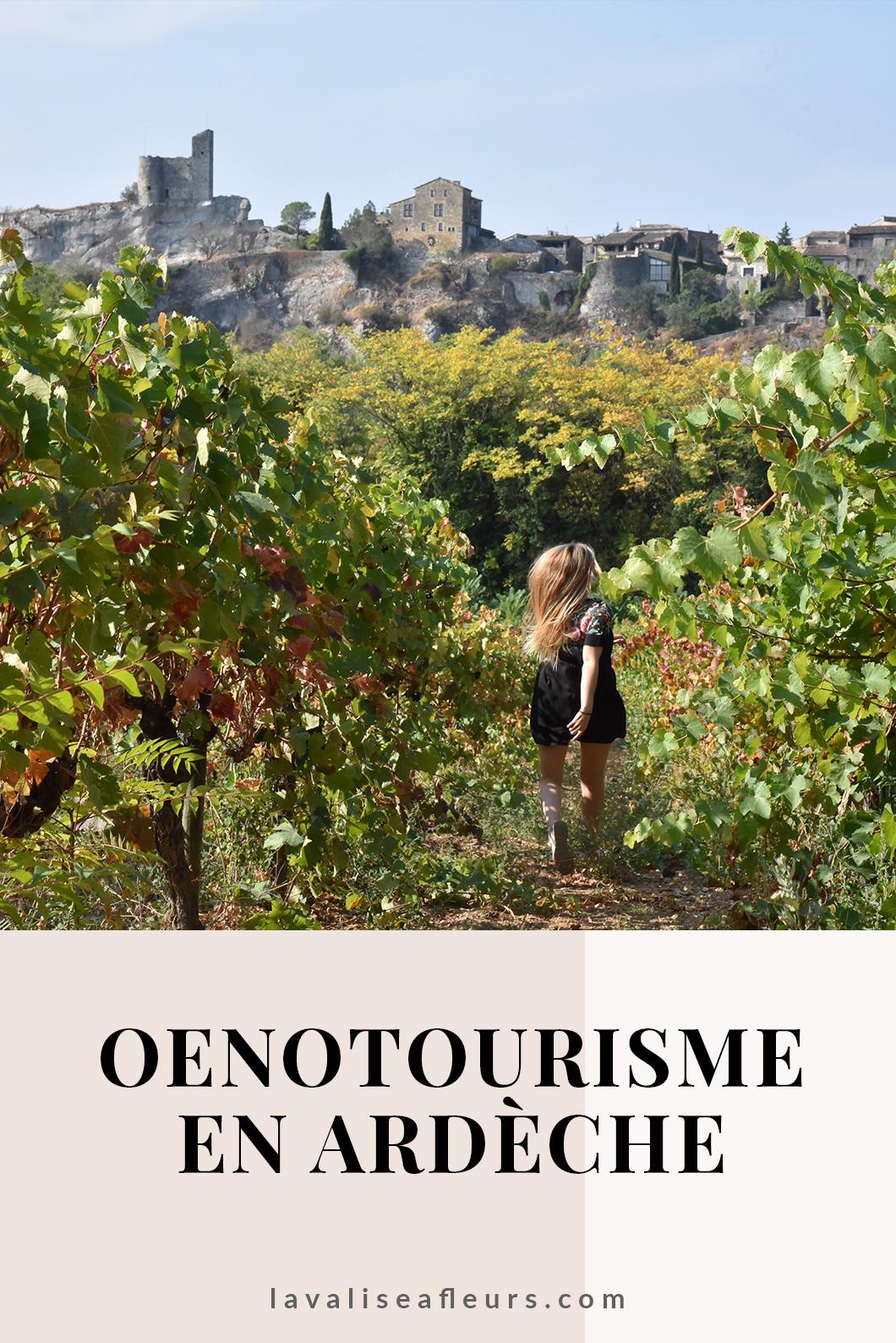 Faire de l'oenotourisme en Ardèche