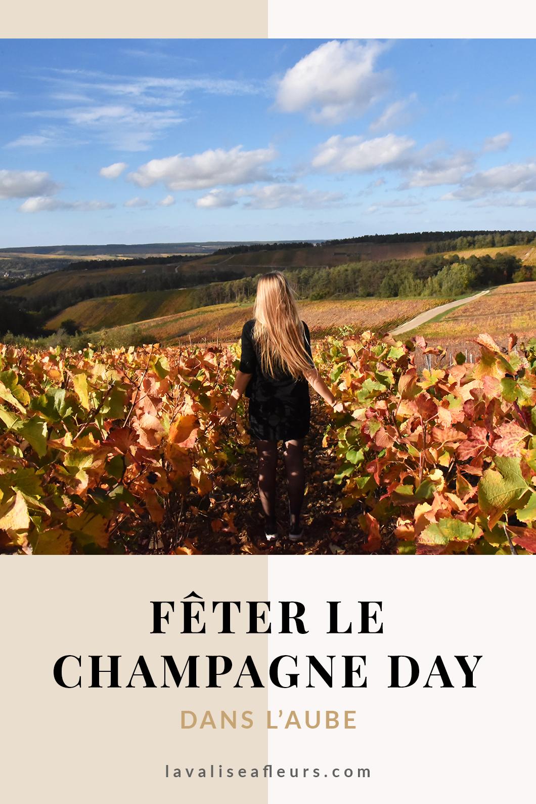 Fêter le champagne day dans l'Aube