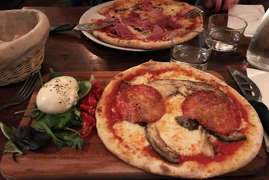 Lucky Luciano, Les meilleurs restaurants de pizza