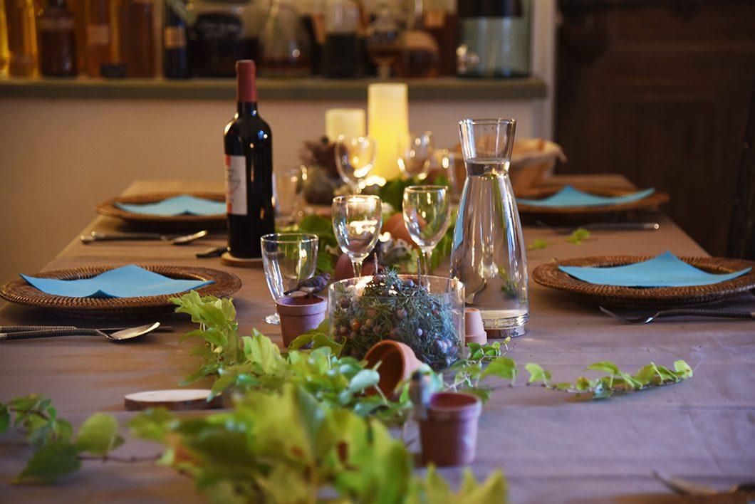 Diner au Domaine de la Manse àVilleneuve-de-Berg