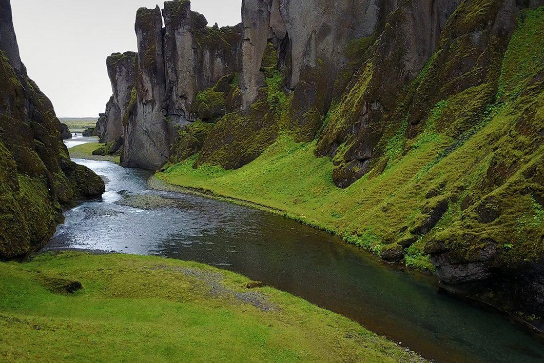 Road trip en Islande - Fjaðrárgljúfur