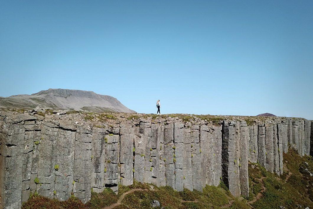 Road trip en Islande - Gerðuberg Cliffs