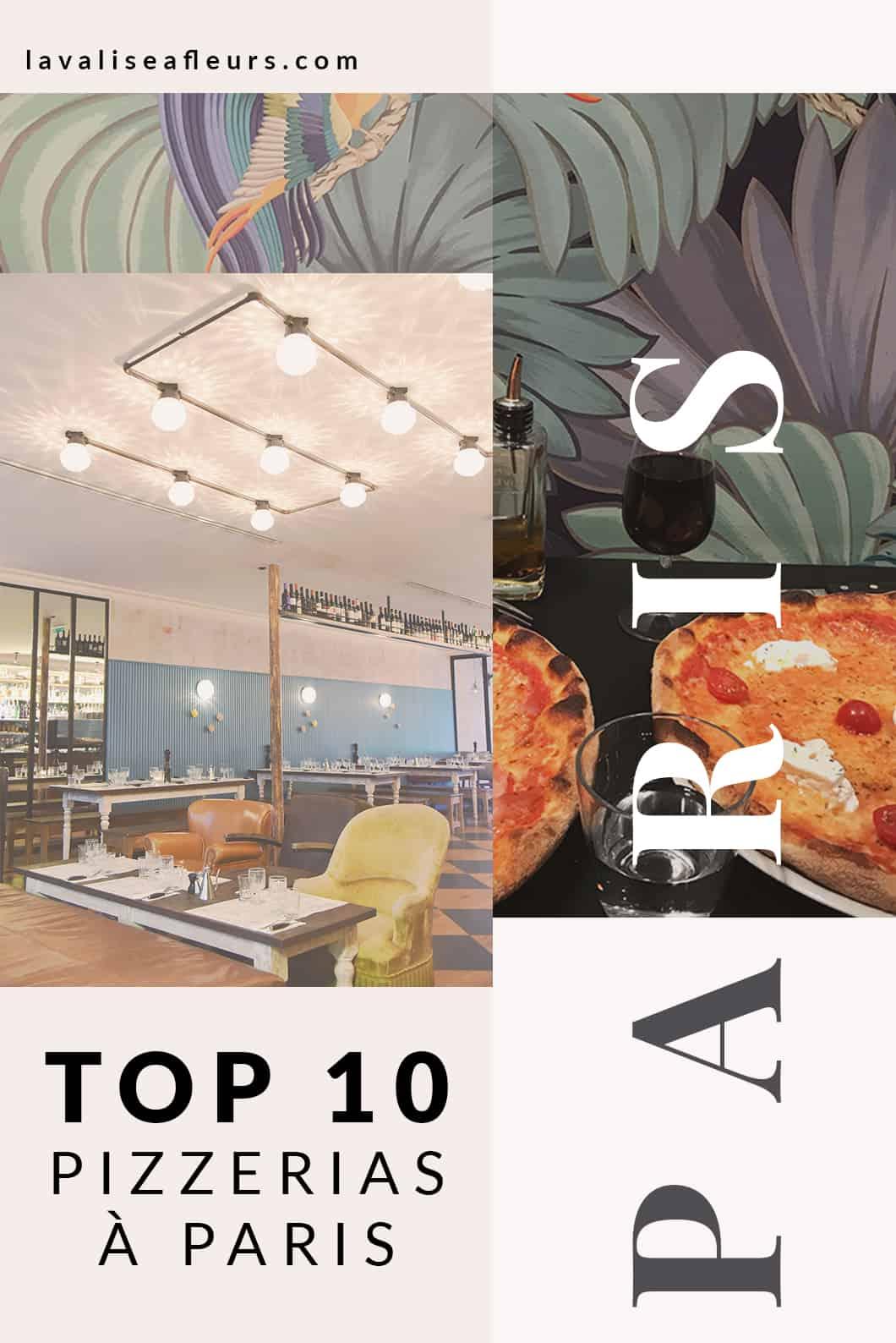 Top 10 des pizzerias à Paris