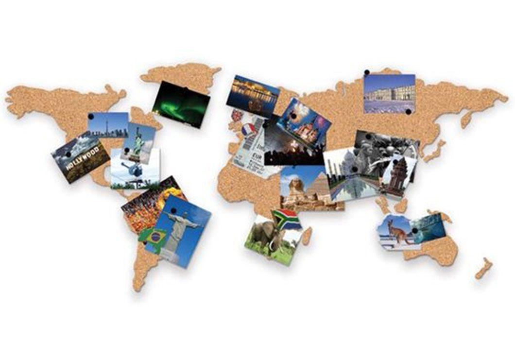 carte du monde photo