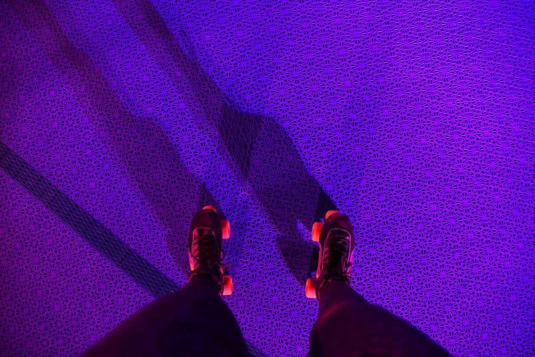 piste de roller éphémère