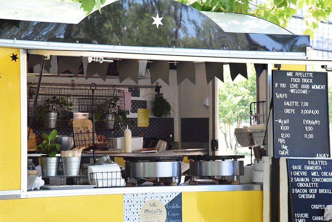 Street food à lyon au parc de Gerland - un week end à Lyon