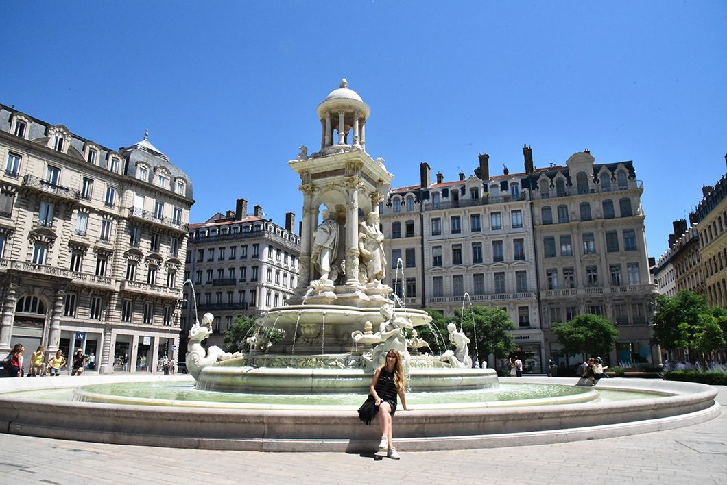 place des Jacobins - un week end à Lyon