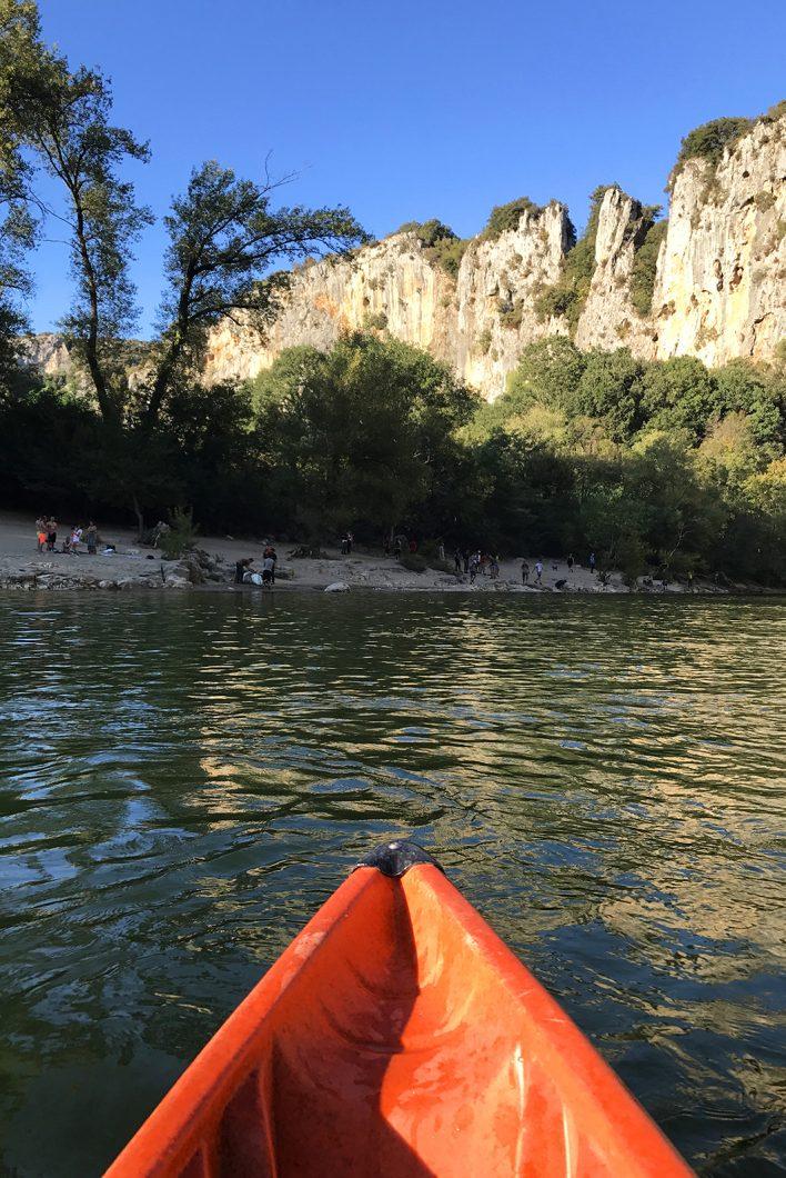 Descente en canoë en Ardèche - Pont d'Arc
