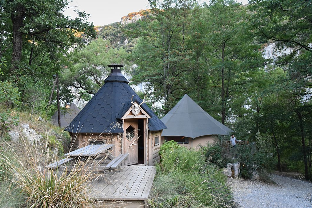Soirée au Prehistoric Lodge - Pont d'Arc