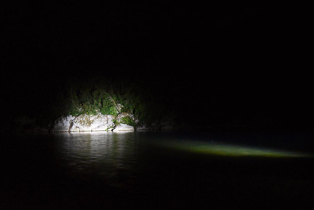 Pont d'Arc de nuit