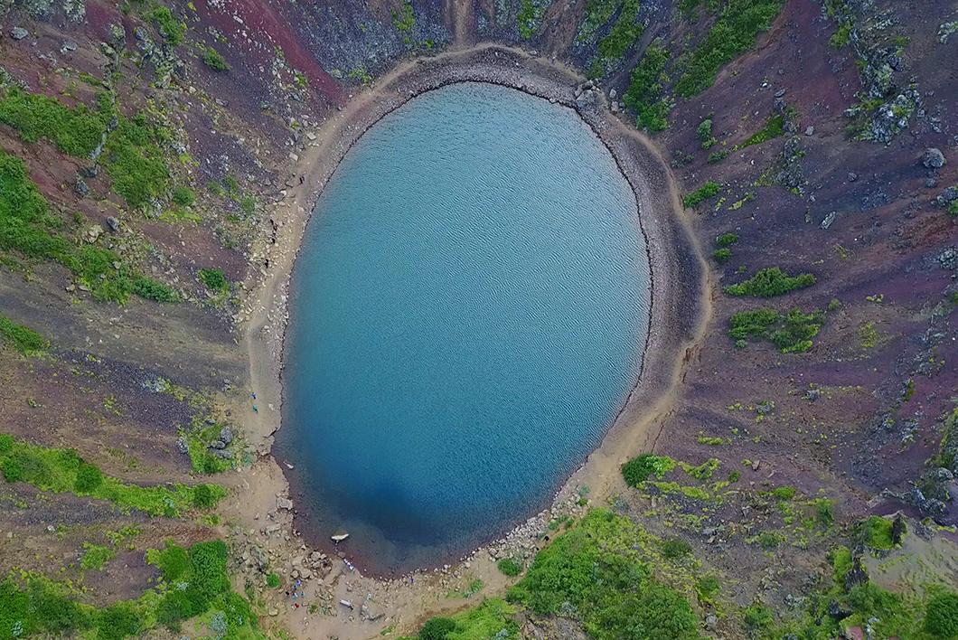 Kerið - Road trip en Islande