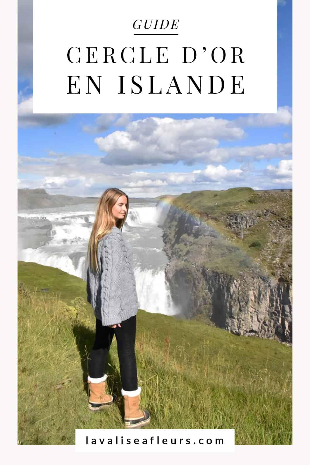 Guide du Cercle d'or en Islande, itinéraire