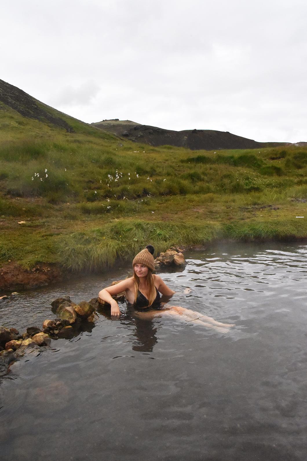 Valley of Reykjadalur - Road trip Islande