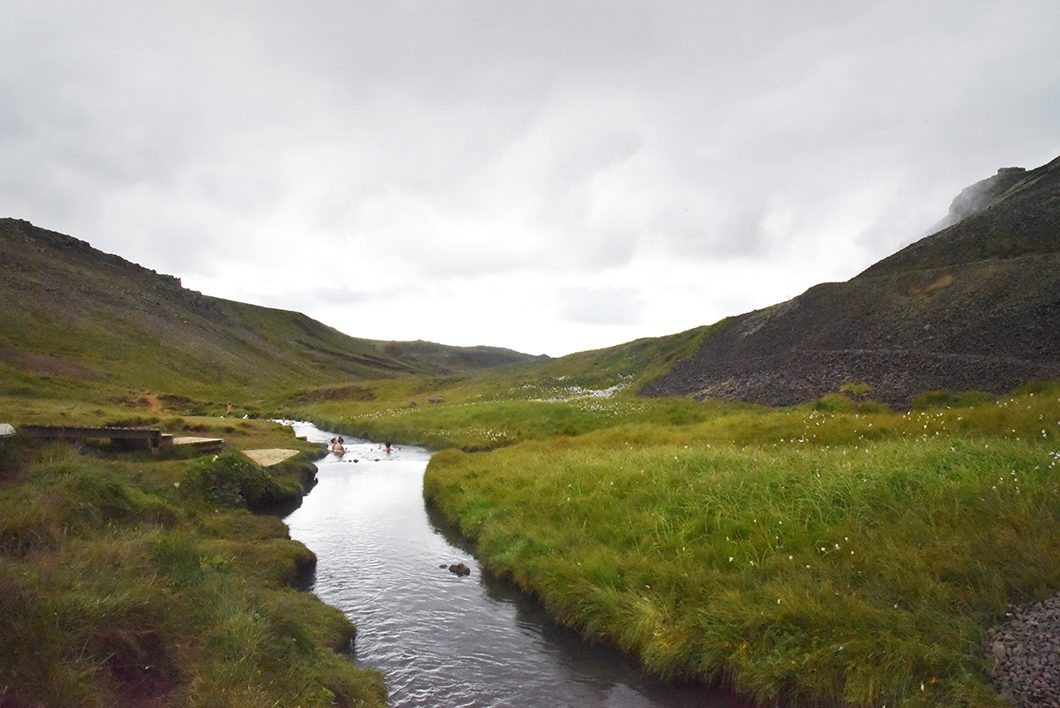 Vallée de Reykjadalur - randonnées à faire en Islande