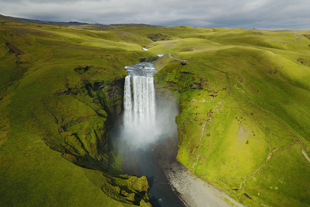 Skógar - Road trip Islande