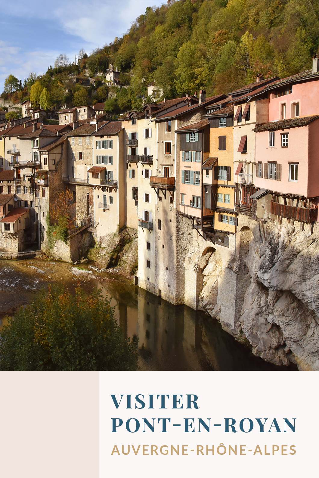 Visiter Pont en Royan, incontournable AUvergne Rhône Alpes