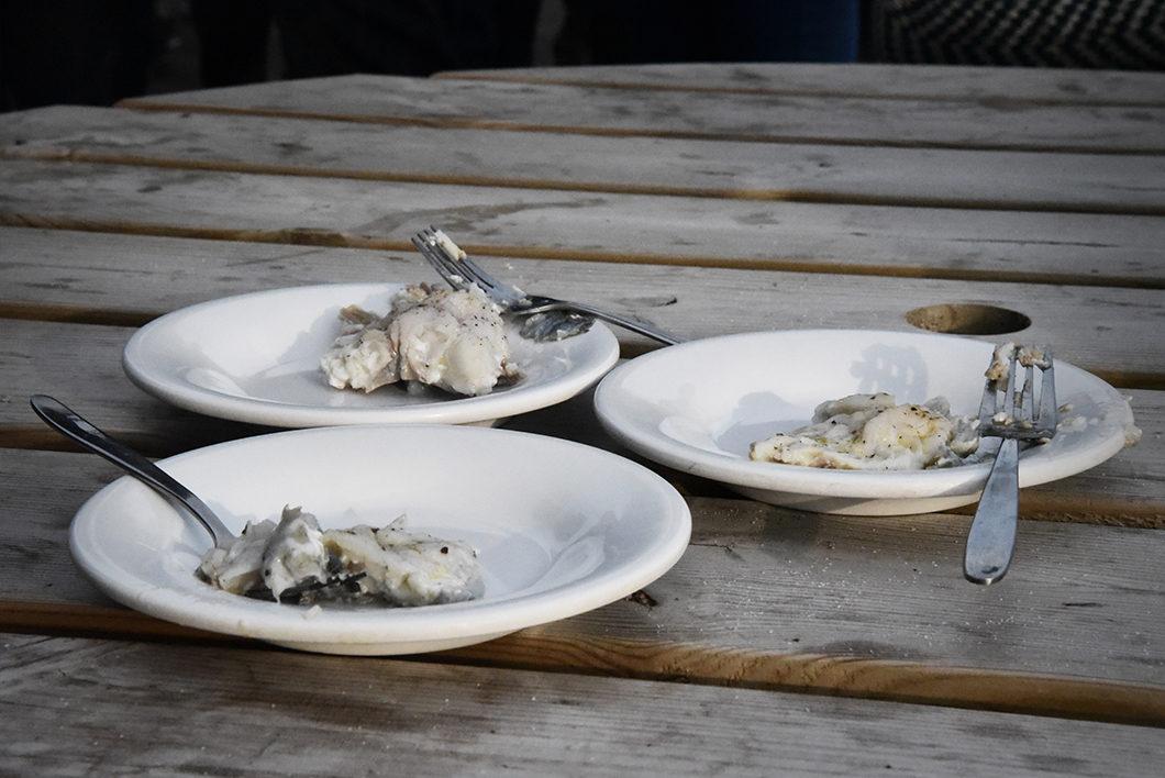 Manger du poisson en Islande