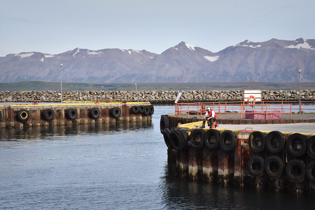 Bateau au Port de Dalvik