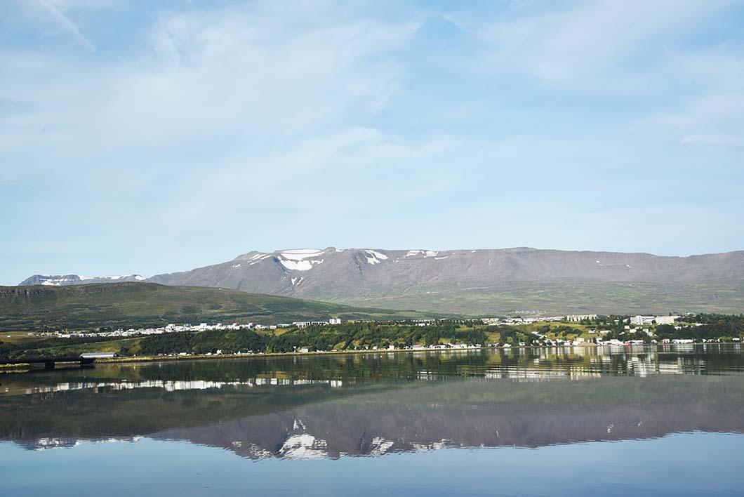Akureyri - Fjord Eyjafjörður