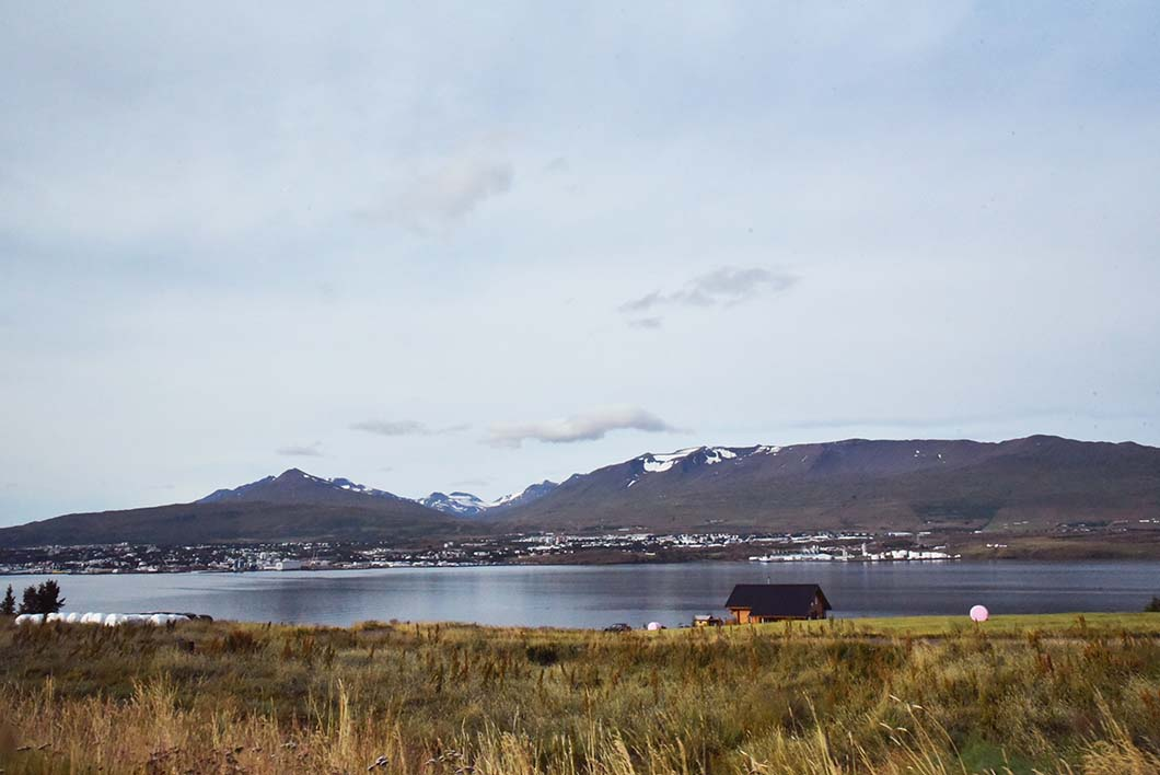 Fjord Eyjafjörður - Islande