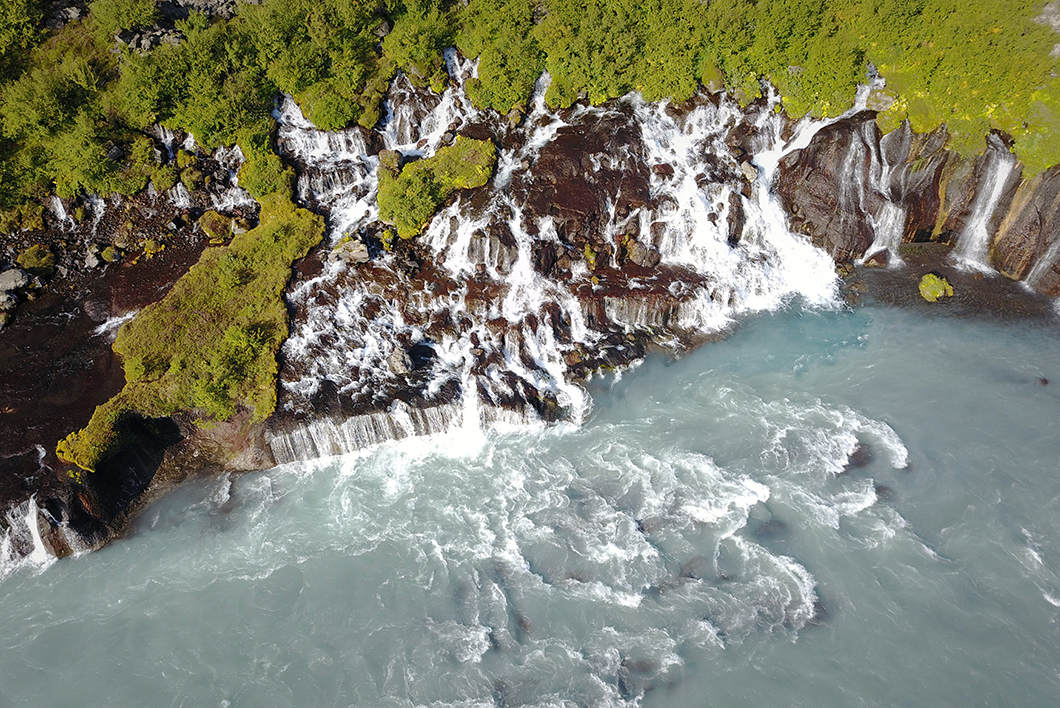 Barnafoss Islande