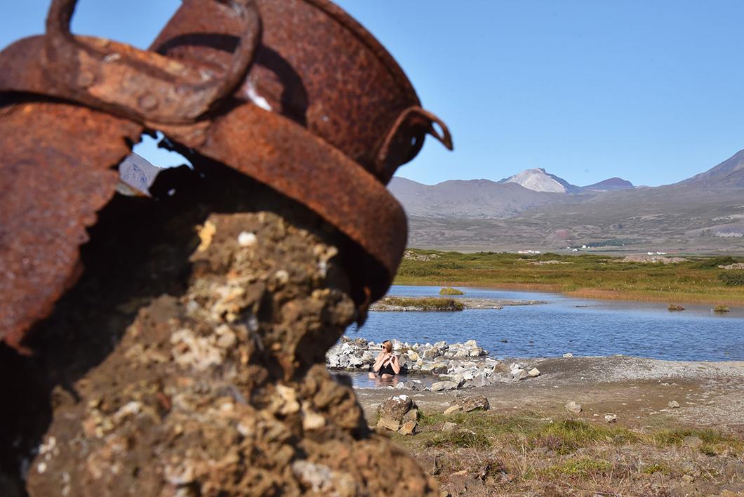 Source d'eau chaude Islande