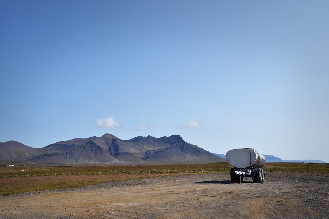 Rjukandi Kaffi - road trip Islande