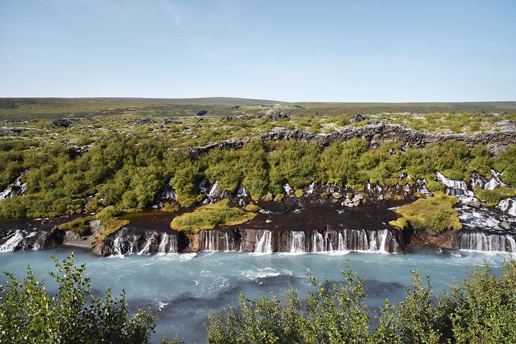 Barnafoss - road trip Islande